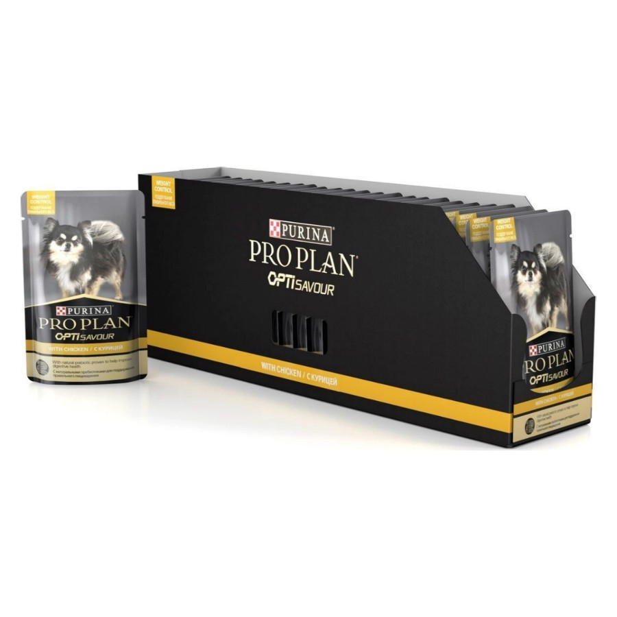 PRO PLAN Dog контроль веса курица 24*100